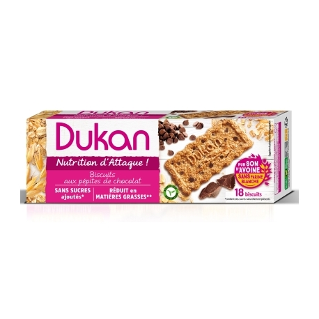 Sušienky Dukan s kúskami čokolády