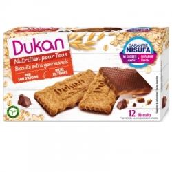 Sušenky Dukan® polité čokoládou