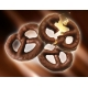 Praclíky Dukan poliate čokoládou