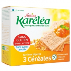 Krehké chlebíky 3 CEREÁLIE Bio Karéléa