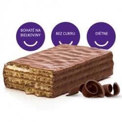 Napolitánky bez cukru poliate čokoládou Body&Fit