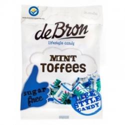 Mätové cukríky Toffees bez cukru DE BRON