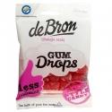 Gumené cukríky MALINA bez cukru De Bron