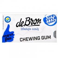 Mätové žuvačky bez cukru De Bron