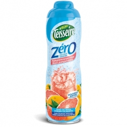 TEISSEIRE ružový grapefruit 0 % cukru a 0 % kalórií