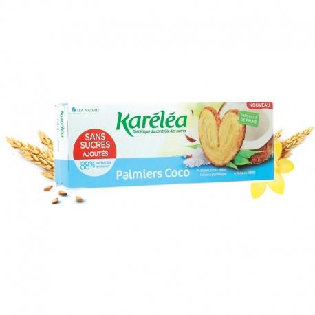 Kokosové sušienky Palmiers bez pridaného cukru Karéléa