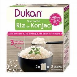 Konjacová ryža Dukan® - 2 balenia