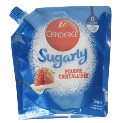 Jemný kryštálový cukor SUGARLY 250g