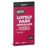 Čierna čokoláda so stéviou Čučoriedka-Jahoda Body&Fit