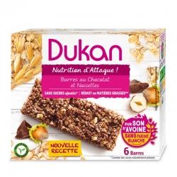 Lieskovcovo-čokoládové tyčinky Dukan