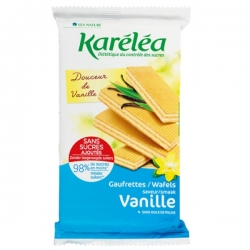 Vanilkové oplátky bez pridaného cukru Karéléa
