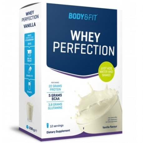 Vanilkový proteín Whey Perfection Body&Fit 336g
