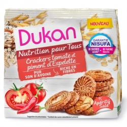 Ovesné crackers Dukan rajče a paprika Espelette