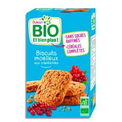Mäkké sušienky s brusnicami Dukan Bio