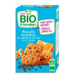 Měkké sušenky s pomerančem a kousky čokolády Dukan Bio