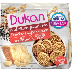 Mini slané sušienky Dukan s parmezánom a semienkami
