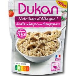Konjacové rizoto so šampiňónmi Dukan