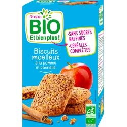 Měkké sušenky s jablkem a skořicí Dukan Bio