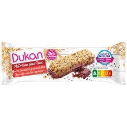Individuálna tyčinka Dukan® s Chia semienkami poliata čokoládou