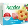 Sušenky Lunettes s jahodovou náplní Karéléa