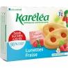 Sušienky Lunettes s jahodovou náplňou Karéléa