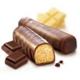 Bielkovinové tyčinky Biela & čierna čokoláda