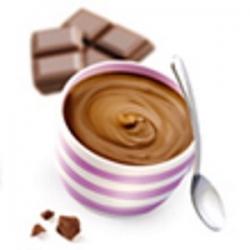 Bielkovinový čokoládový puding