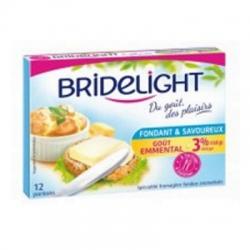 Tavený syr Bridelight chuť Emmental 3 % tuku