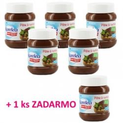 Lieskovcovo-čokoládová nátierka 5 + 1 ZADARMO