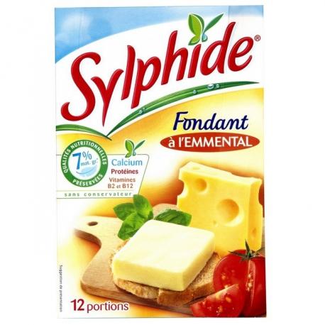 Tavený syr Sylphide chuť Emmental 7 % tuku