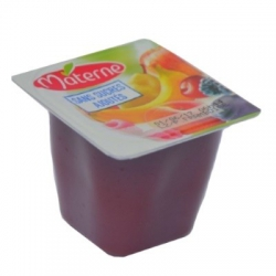 Jablkovo-malinové pyré bez cukru