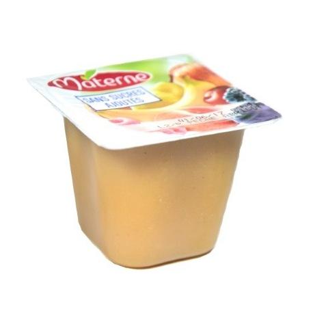 Jablkovo-ananásové pyré bez cukru