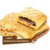 Bielkovinová tyčinka s lieskovcovo-čokoládovou náplňou
