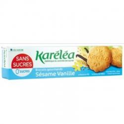 Vanilkovo-sezamové sušenky bez cukru Karéléa