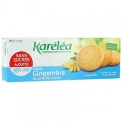 Krehké zázvorovo-citrónové sušienky bez pridaného cukru Kréléa