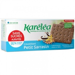 Chrumkavé pohánkové sušienky bez pridaného cukru Karéléa