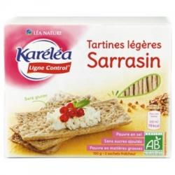 Ľahké pohánkové chlebíky Bio bez pridaného cukru Karéléa