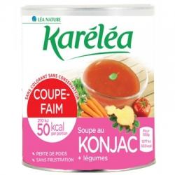 Polievka s Konjacom potláčajúca chuť do jedla Karéléa