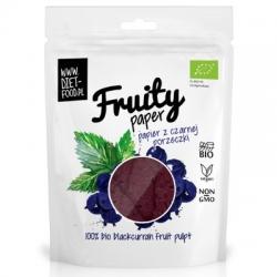 Ovocný papier - 100% Bio Čierna ríbezla
