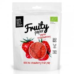 Ovocný papier - 100% Bio Jahoda