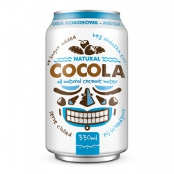 COCOLA neperlivá kokosová voda 330ml