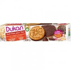 Sušienky Dukan® s Chia semienkami poliate čokoládou