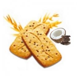 Bielkovinové ovsené kokosovo-čokoládové sušienky 4ks