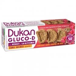 Sušenky Dukan® Gluco-D 3 zrnné s ibiškem