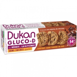 Sušenky Dukan® Gluco-D s kousky čokolády