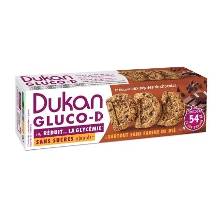 Sušienky Dukan® Gluco-D s kúskami čokolády