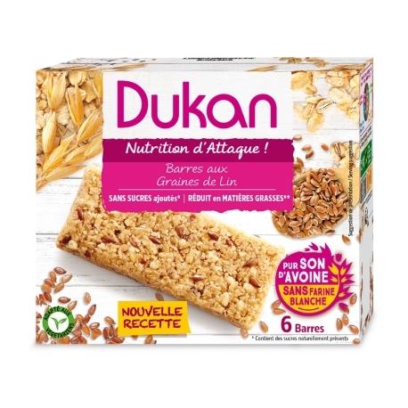 Tyčinky Dukan® z ovsených otrúb s ľanovými semienkami