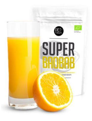 BAOBAB BIO a RAW v prášku je vhodný na nízkoenergetické diéty ako aj pre špotrtovcov.