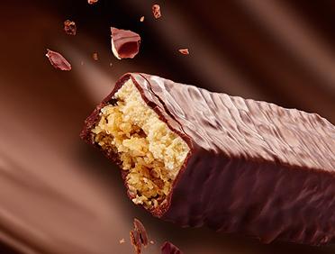 Tyčinky Dukan® celomáčané v čokoláde sú vhodné pri Dukanovej diéte.