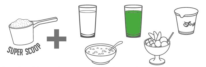 Prípravok na chudnutie- prášok SUPER FOOD (super potraviny).